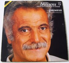 GEORGES BRASSENS CHANTE LES CHANSONS DE SA JEUNESSE . 2 LP