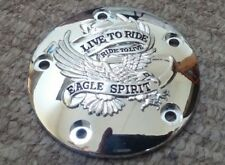 CHROME HARLEY EAGLE SPIRIT POINT COVER