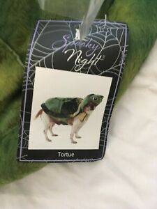 "SPOOKY NIGHT Halloween ""TURTLE"" Costume Puppy/Dog Large 18'-20'"