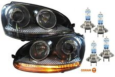 VW GOLF 5 03-09 SCHEINWERFER GTI-OPTIK + 4x OSRAM NIGHT BREAKER UNLIMITED H7