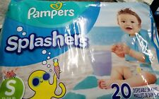 Pampers Splashers Disposable Swim Pants Diaper Small 20 Count Small 13-24 lbs
