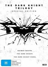 The Dark Knight Trilogy DVD R4 Batman begins, Dark Knight Rises