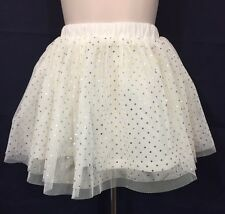 New/Tags 24 Month First Impressions Baby Girl's 100% Cotton White Tulle Skirt