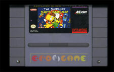 BART'S NIGHTMARE Super Nintendo SNES Versione Americana NTSC ○○○○ SOLO CARTUCCIA
