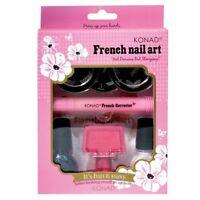 Konad Stamping Nail Art French Set Acrylic Gel original nail Ideal Gift Salon