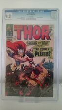 MIGHTY THOR # 128  CGC 9.2 -NM  HERCULES VS PLUTO  JACK KIRBY ART  CENTS 1966