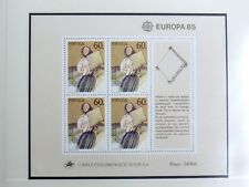 TIMBRES DU PORTUGAL : 1985 YVERT BLOC FEUILLET N° 48** NEUFSANS CHARNIERE - TBE