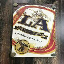 Vintage 1985 La Beer Poster Olympic Games Los Angeles Ca 1984 Track & Field Rare