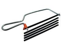Scie manuelle Junior avec 4 lames Set 150mm (15.2cm) Paquet de 1 ensemble