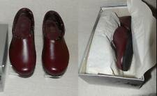Fab Mens Vtg 50s 60s Leather Shoes Moccasin Slippers #7387 New Old Stock Nos