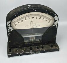 Welch No. 2692 Vintage Galvanometer Voltmeter Ammeter - art deco antique old amp