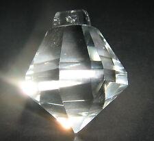 GOCCIA IN CRISTALLO SFERA PRISMA PER LAMPADARI  MANDORLA 40x46 BHOEMIA RIC