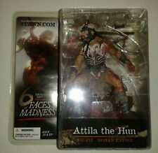 McFarlane 6 Faces of Madness: Attila the Hun new, sealed in package figure