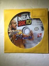 NBA 2K10 (Nintendo Wii, 2009)