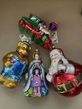 Polonaise Ornaments Lot Of 4