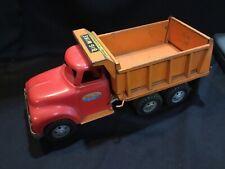 *NO RESERVE* Vintage Tonka Big Mike Dual Hydraulic Dump Truck Pressed Steel Toy