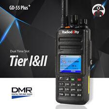 Radioddity* Gd-55 Plus * 10W UHF DMR digital dual transmisores Ham radio emisora