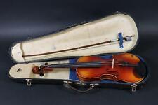 Geige ohne Zettel mit Bogen und Koffer    (DH425)