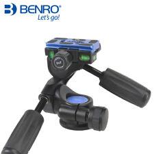 Benro HD Series 3-Way Pan tripod head HD2A Professional Magnesium Alloy Panhead
