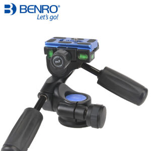 Benro HD Series 3-Way Pan tripod head HD2A Professional Magnesium Alloy Panhead