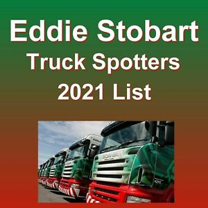 Updated October 2021 Eddie Stobart Truck Spotters Name Guide Book List