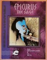 EPICURUS THE SAGE #2 ~ VF 1991 TBP PIRANHA PRESS DC COMICS ~ SAM KIETH ART