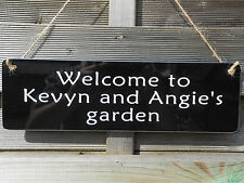 BBQ PARTY SECRET GARDEN HOME DAD MAN CAVE GRANDAD NAN GIFT SIGN PERSONALISED NEW