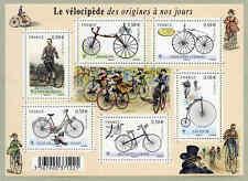 Feuillet F4555 - Le vélocipède des origines à nos jours - 2011