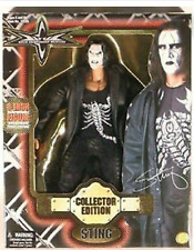 WCW Sting 8 Inch Deluxe Boxed Action Figure