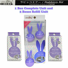 Rabbico Air Car Vent Clips Air Freshener Sexy Soap Scent + 2 Boxes Refill Unit