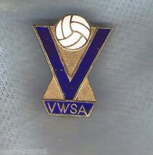 #D109. Victorian Women'S Soccer Association Lapel Badge