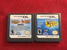 Spongebob + Shrek (Nintendo DS Game Lot) - Tested and Guaranteed