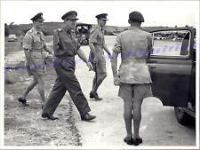 1950s British Army Maylaya Command Baron Lt General Geoffrey Kemp Bourne Photo