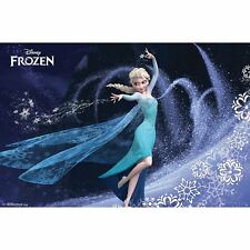 Frozen Elsa Poster Print Wall Art Home Decor Movie Memorabilia Kids Bedroom Play