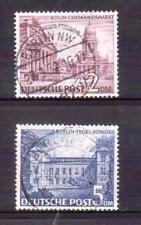 GERMANY BERLIN 1949 2DM & 5DM used