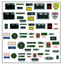 NEW Decal Set Pour Échelle 1/8 DeAgostini E Type Jaguar séries