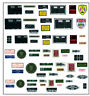 NEW Decal set for 1/8 scale DeAgostini E Type Jaguar partwork