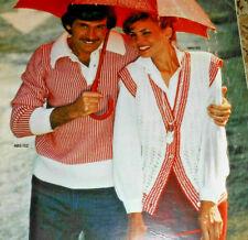 Burda von 1980 Strickmoden für die Familie  Stricken Strickheft Handarbeitsheft