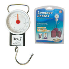 Luggage Suitcase Hanging Weighing Scales With Tape Measure Holiday Flight Bag