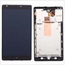 Full LCD Dispaly Touch Screen Glass Digitizer & Frame For Nokia Lumia 1520 Black