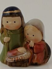 Childs Ceramic Nativity Scene
