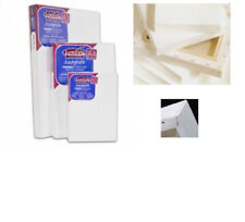 ARTIST BLANK STRETCHED & ACRYLIC PRIMED DEEP EDGE FRAMED COTTON LOXLEY CANVAS