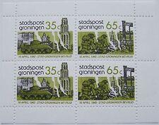 Stadspost Groningen 1985 - Blok Groningen 40 jaar bevrijding
