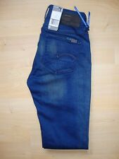 G-Star Raw '3301 Contour Skinny' Stretch Womens Blue Jeans W24 L32 BNWT RRP £100