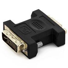 deleyCON PREMIUM VGA zu DVI-I Adapter VGA Buchse zu DVI-I Stecker Monitor Beamer