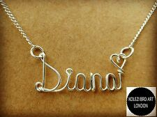 Custom Wire Name Necklace Personalized Gift Handmade Wholesale Price Gold Plated