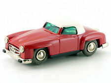 Schuco micro-racer MERCEDES 190 sl rouge-blanc # 107