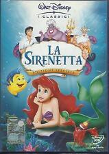 La Sirenetta (1990) DVD 1° ed. Buena Vista Z3A0042102 ologramma rettangolare