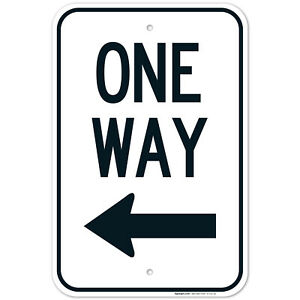 One Way Sign,