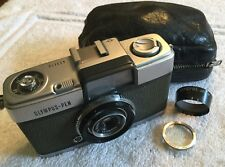 RARE ORIGINAL OLYMPUS PEN 35mm FILM CAMERA and CASE in GOOD CONDITION and FWO
